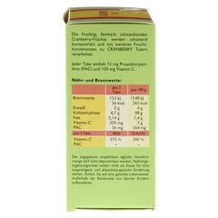Cranberry Cerola Taler Grandel 32 Stück - Linke Seite