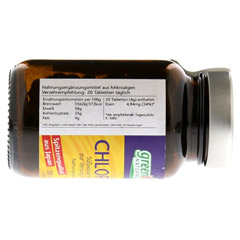 CHLORELLA GREENVALLEY 200 mg Tabletten 300 Stück - Linke Seite