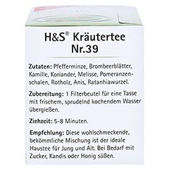 H&S Kräutertee Mischung Filterbeutel 20 Stück - Linke Seite