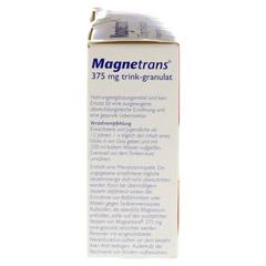 Magnetrans trink 375 mg Granulat 20 Stück - Linke Seite
