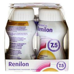 RENILON 7.5 Karamelgeschmack flüssig 4x125 Milliliter - Linke Seite