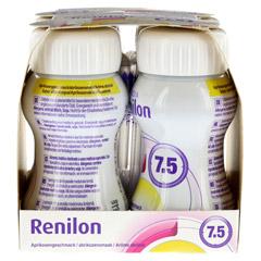 RENILON 7.5 Aprikosengeschmack flüssig 6x4x125 Milliliter - Linke Seite