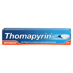 Thomapyrin INTENSIV 20 Stück N2 - Vorderseite