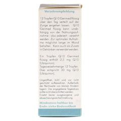 Q10 GERIMED flüssig ohne Alkohol 30 Milliliter - Rechte Seite