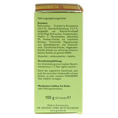 Cranberry Cerola Taler Grandel 32 Stück - Rechte Seite