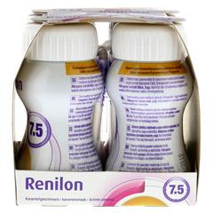 RENILON 7.5 Karamelgeschmack flüssig 4x125 Milliliter - Rechte Seite