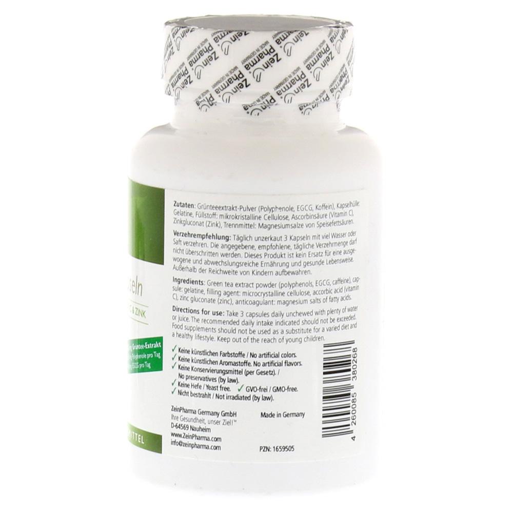 gr ntee kapseln plus vitamin c und zink 90 st ck online. Black Bedroom Furniture Sets. Home Design Ideas