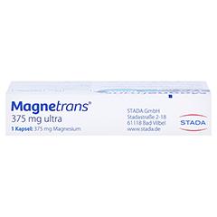 MAGNETRANS 375 mg ultra Kapseln 20 Stück - Oberseite