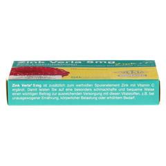ZINK VERLA 5 mg Lutschtabl.Himbeere 50 Stück - Oberseite