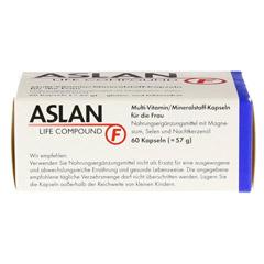ASLAN Life Compound F Kapseln 60 Stück - Oberseite