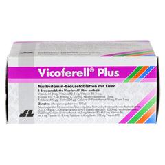 VICOFERELL plus Brausetabletten 30 Stück - Unterseite