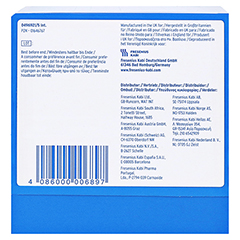 CALSHAKE Erdbeer Beutel Pulver 7x87 Gramm - Unterseite