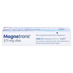 MAGNETRANS 375 mg ultra Kapseln 20 Stück - Unterseite