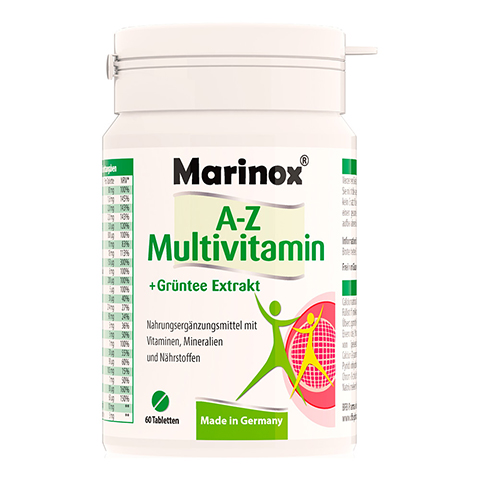 MARINOX A-Z Multivitamin+Green Tea Extract Tabl. 60 Stück