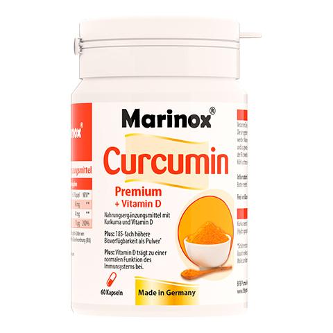 MARINOX Curcumin Premium+Vitamin D Hartkapseln 60 Stück