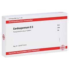 CARDIOSPERMUM D 3 Ampullen 8x1 Milliliter N1
