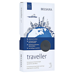 BELSANA traveller AD M schwarz Fuß 1 35-38 2 Stück