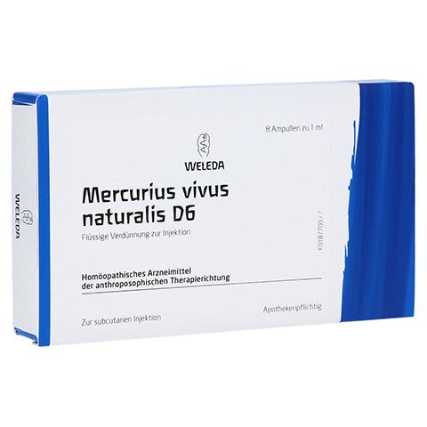 MERCURIUS VIVUS NATURALIS D 6 Ampullen 8x1 Milliliter N1