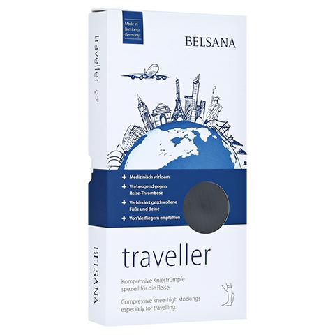 BELSANA traveller AD M schwarz Fuß 2 39-42 2 Stück