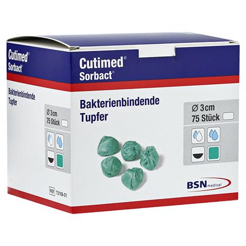 CUTIMED Sorbact Tupfer walnussgroß 75 Stück