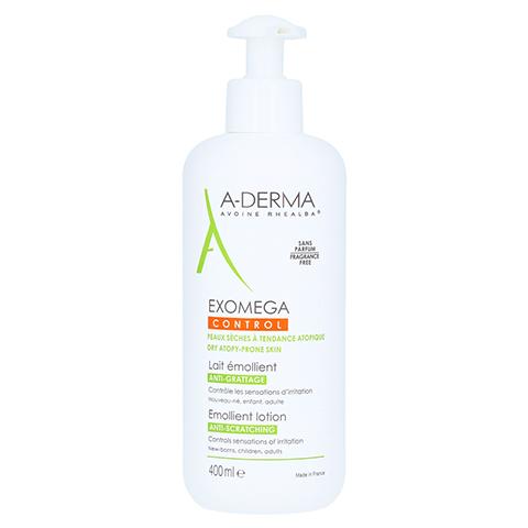 A-DERMA EXOMEGA CONTROL Intensiv Körpermilch 400 Milliliter