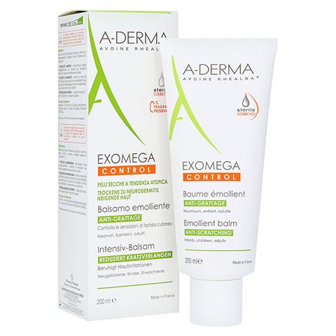 A-DERMA EXOMEGA CONTROL Intensiv Balsam steril 200 Milliliter