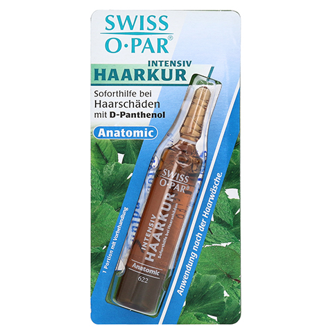 HAARKUR Intens.b.Haarschäd.Anantom.Swiss Ampullen 1 Stück