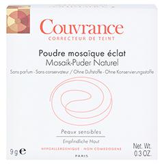 AVENE Couvrance Mosaik-Puder naturel m.Spiegel 9 Gramm - Vorderseite