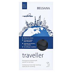 BELSANA traveller AD M schwarz Fuß 3 43-46 2 Stück - Vorderseite