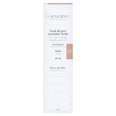 AVENE Couvrance korrigier.Make-up Fluid sand 30 Milliliter - Vorderseite