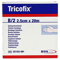 TRICOFIX Schlauchverband Gr.B 2,5 cmx20 m 1 Stück - Vorderseite