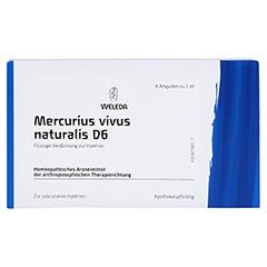 MERCURIUS VIVUS NATURALIS D 6 Ampullen 8x1 Milliliter N1 - Vorderseite