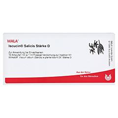 ISCUCIN salicis Stärke D Ampullen 10x1 Milliliter N1 - Vorderseite