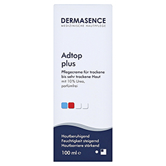 DERMASENCE Adtop plus Creme 100 Milliliter - Vorderseite