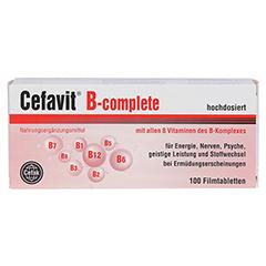 Cefavit B-complete Filmtabletten 100 Stück - Vorderseite
