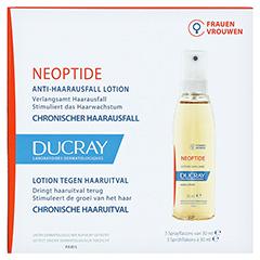 Ducray Neoptide Anlagebedingter Haarausfall Tinktur 3x30 Milliliter - Vorderseite