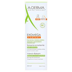 A-DERMA EXOMEGA CONTROL Intensiv Balsam steril 200 Milliliter - Vorderseite