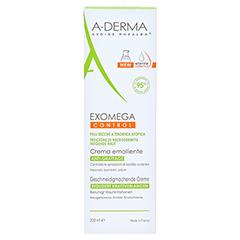 A-DREMA EXOMEGA CONTROL Geschmeidigmachende Creme 200 Milliliter - Vorderseite
