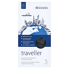 BELSANA traveller AD M schwarz Fuß 2 39-42 2 Stück - Vorderseite