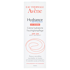 Avène Hydrance Optimale UV legere Creme 40 Milliliter - Vorderseite