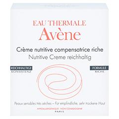 AVENE Nutritive Creme reichhaltig 50 Milliliter - Vorderseite
