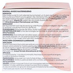 Vichy Mineral-Maske Hauterneuernde Maske 75 Milliliter - Linke Seite