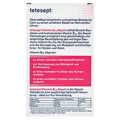TETESEPT Vitamin B12 Depot Filmtabletten 30 Stück - Rückseite