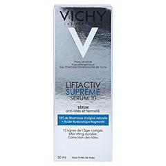 Vichy LIFTACTIV SUPREME Serum 10 Konzentrat + gratis VICHY LIFTACTIV Nachtcreme 15 ml 50 Milliliter - Rückseite