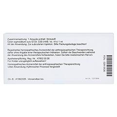 COLON SIGMOIDEUM GL D 30 Ampullen 10x1 Milliliter N1 - Rückseite