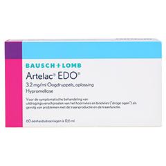 Artelac EDO Augentropfen 60x0.6 Milliliter N2 - Rückseite