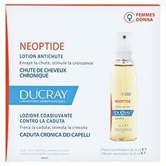 Ducray Neoptide Anlagebedingter Haarausfall Tinktur 3x30 Milliliter - Rückseite