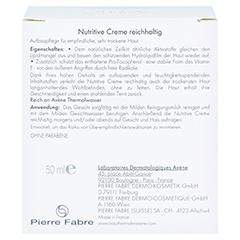 AVENE Nutritive Creme reichhaltig 50 Milliliter - Rückseite