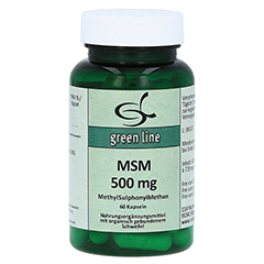 MSM 500 mg Kapseln 60 Stück