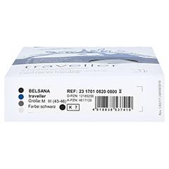 BELSANA traveller AD M schwarz Fuß 3 43-46 2 Stück - Unterseite
